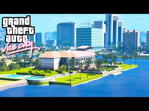 VICE CITY Mod In GTA 5!! Are The Cops There Any Good??