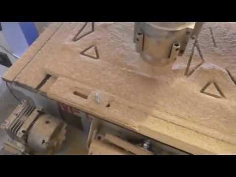Фигурный раскрой фанеры на фрезерно гравировальном станке с ЧПУ