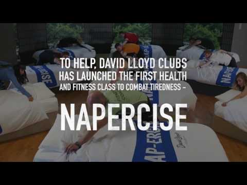 David Lloyd introduces new 'napercise' classes