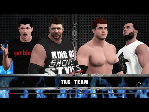 VGW: Grim & Jimmy Controversy vs. Joe Wolf & Jay Kirby WWE2K17