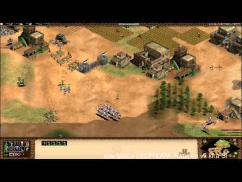 AoE II HD - LEGITEAM Nataniel vs LEGITEAM kira G1/3 - Live Replay
