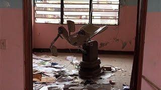 Haiti hospital after Huricane
