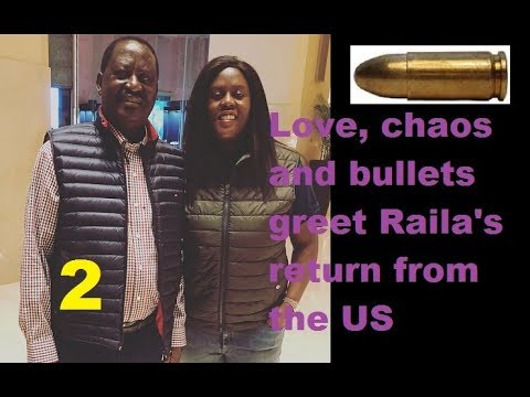 The Love And Chaos That Welcomed Raila From The US Part 2