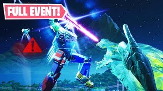 """*LIVE* FULL """"ROBOT vs. MONSTER EVENT"""" GAMEPLAY in Fortnite! (LIVE EVENT REPLAY)"""