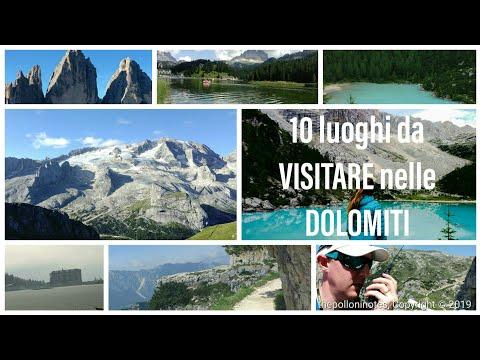 10 COSE DA VEDERE NELLE DOLOMITI - World Heritage Site