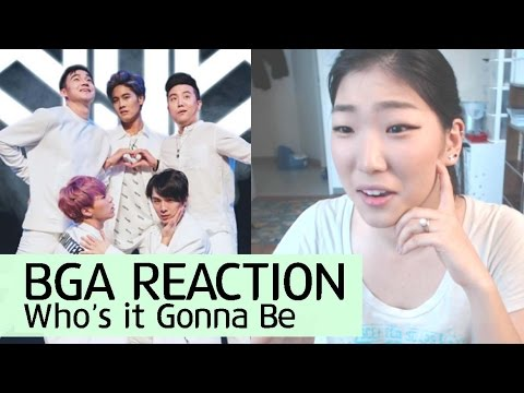 BGA Who's It Gonna Be LIVE REACTION - Boys Generally Asian