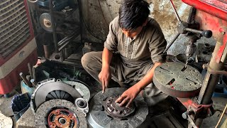 How to Rebuild a Clขtch Plate || Rebuilding an Old Clutch Plate || Complete Process