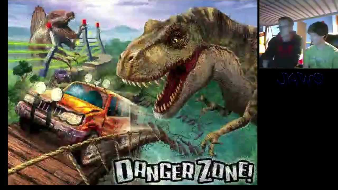 Jurassic Park Danger Zone Gameplay With Ben and Josh - YouTube