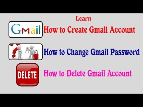 how to delete a gmail account 2016