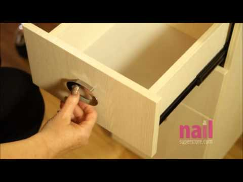 EuroStyle Portable Manicure Table