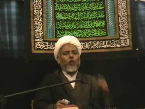 Bibi Fatimah Shahadat 2009 - Urdu Shia Islam Majlis Lecture - Nottingham UK p8/9