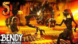 Download *SECRET ENDING* TOM AND ALICE FIGHT BENDY! | Bendy and the Ink Machine [Chapter 5] Hacking & Secrets Mp3 and Videos