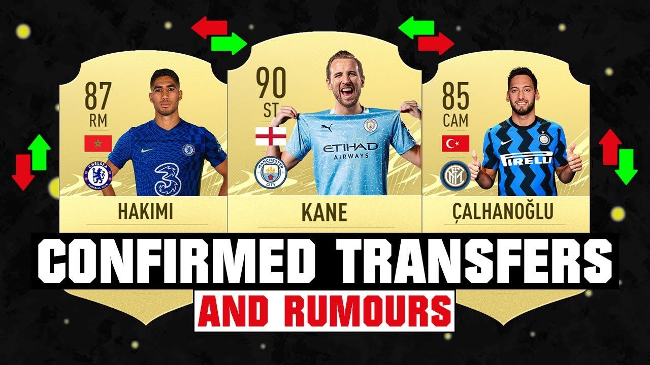 FIFA 22 | NEW CONFIRMED TRANSFERS & RUMOURS! 🤪🔥 ft. Kane, Hakimi, Calhanoglu... etc