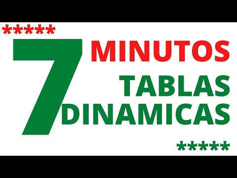 Como crear y manipular tablas dinamicas en excel 2016