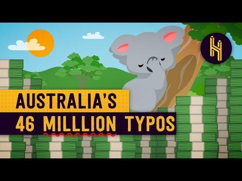 How Australia Printed a Typo 46 Million Times