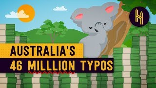 How Australia Printed a Typo 46 Million Times