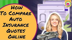 Simple Tricks On How To Compare Auto Insurance Quotes Online