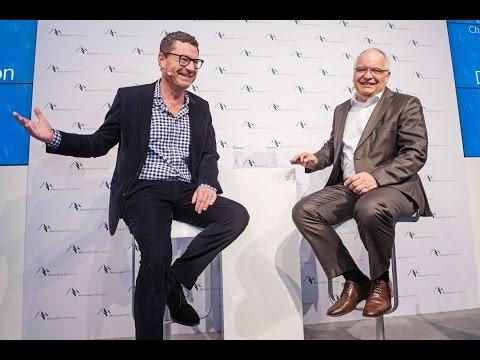 Kai Diekmann & Martin Biesel - Unternehmertag 2017