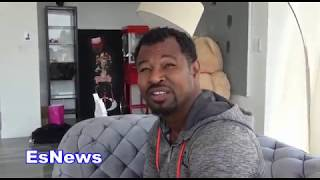 Shane Mosely On Mikey Garcia vs Errol Spence Jr EsNews Boxing