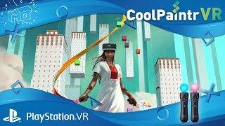 CoolPaintr VR / Playstation VR  ... hands on / deutsch / german