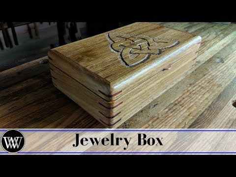 Making a Jewelry Box For My Daughter