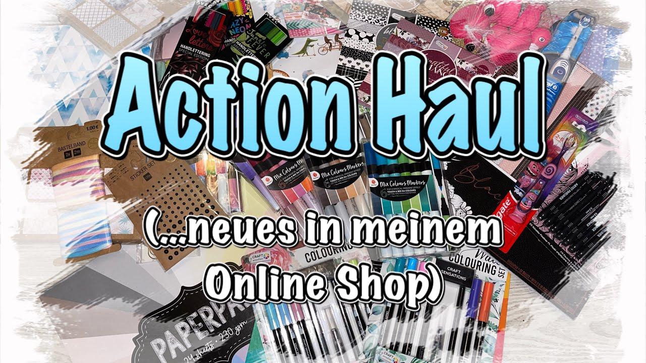 Action Haul (deutsch) neue Blöcke, tolle Stifte uvm., Scrapbook basteln mit Papier DIY