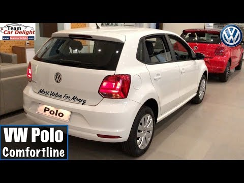 Volkswagen Polo Comfortline Model 2018 Detailed Review with On Road Price   Polo Comfortline