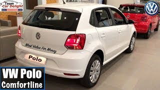 Volkswagen Polo Comfortine Model 2018 Detailed Review With On Road Price | Polo Comfortline