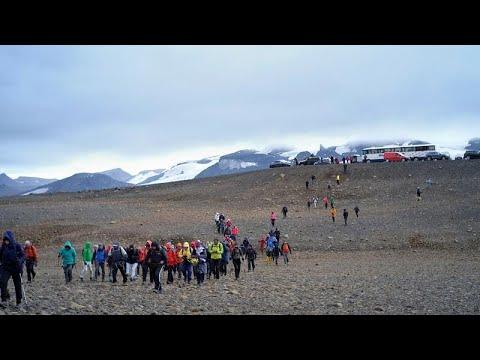 شاهد: نصبٌ تذكاري وحفلُ تأبين في وداع أول أنهار آيسلندا الجليدية الذائبة والسبب..…  - نشر قبل 21 دقيقة