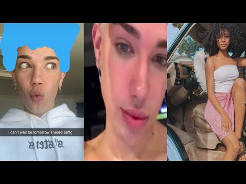 JAMES CHARLES NEW LOOK! & ARE JAMES & THE VAN LIFE GIRL BEING USED? thumbnail