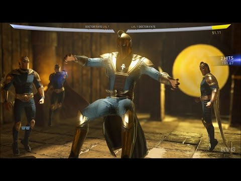 Injustice 2 - Doctor Fate - The Amulet of Anubis | Super Move Shown (HD) [1080p60FPS]