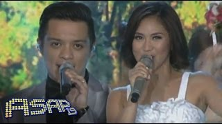 Sarah G, Bamboo sing 'Accidentally In Love' on ASAP