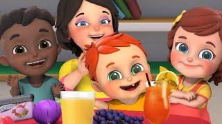 Milk Shake | Let's Drink Juice! | + More Nursery Rhymes & Baby Songs | Kids Cartoon - Jugnu Kids