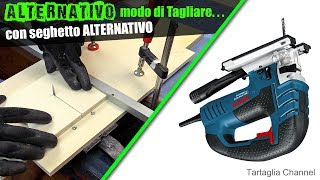 ALTERNATIVO modo di usare un seghetto alternativo? - Jigsaw Table