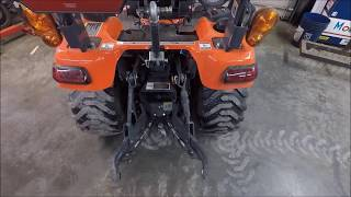 Parts of the 3 Point Hitch Explained