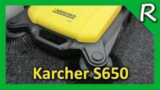 Подметальная машина Karcher S 650 [Обзор]