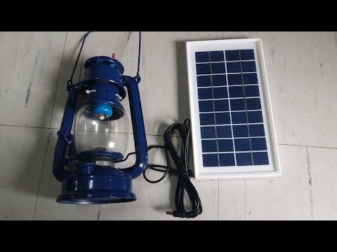DIY Solar Powered Kerosene Lamp