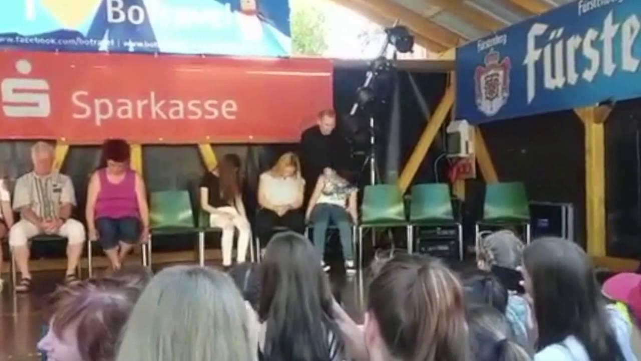 Stadtfest Löffingen 2016- Christo Showhypnose