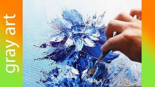 Картина маслом / Как нарисовать Абстрактную картину