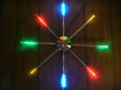 StarBurst Multi-color 144 LED Light Sculpture, Snowflake, Xmas ...
