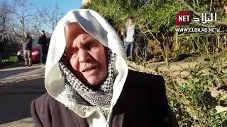 والد حافظ الشرطة قلور عبد الحكيم الذي استشهد بعد تلقيه طعنة في أثناء دفاعه عن المواطنين في قسنطينة
