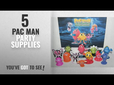 Top 10 Pac Man Party Supplies [2018]: Pac-Man And The Ghostly Adventures Deluxe Party Favors Goody