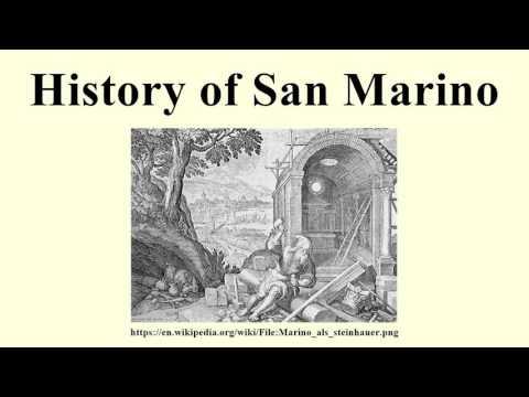 History of San Marino