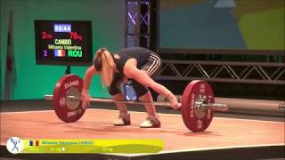 Girls 48kg Group A - 2018 European Youth Weightlifting Championships