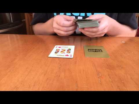 Mathematical Card Trick Self Working Easy And No Setup