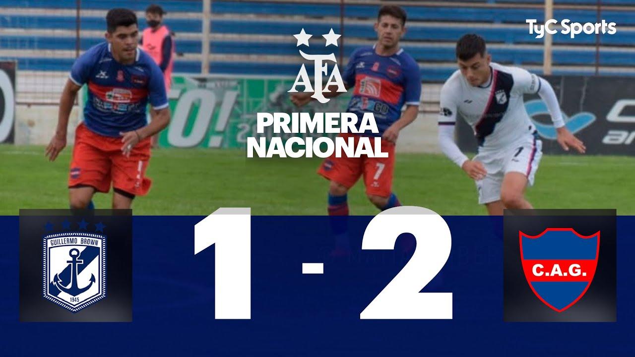 Brown (PM) 1-2 Atlético Güemes (SdE)   Primera Nacional