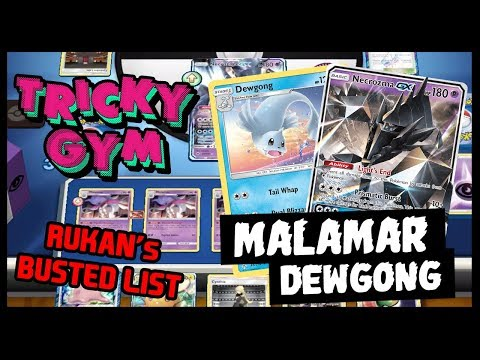 Rukan Shows us How to Play Malamar / Dewgong **BUSTED** deck!!! from YouTube · Duration:  2 hours 5 minutes 12 seconds