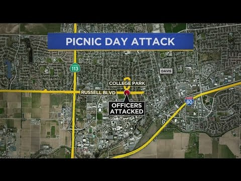 Davis Police Officers Attacked By Crowd During Picnic Day