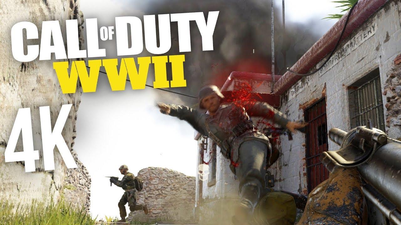 Call of duty ww2 4k ps4 pro multiplayer gameplay tdm - Is cod ww2 4k ...