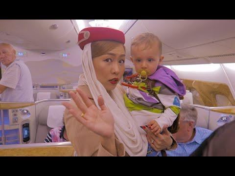Emirates Business Class A380 To Dubai !!